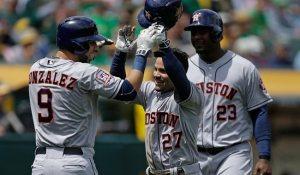 Jose Altuve is the Astros' young guiding lights on offense. (Photo courtesy: USA Today).