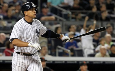 Alex Rodriguez has watched many home runs sail over the fence in 2015,  all part of a stunning comeback season.