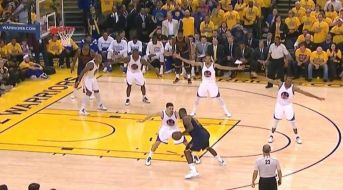 Golden State's defense in Game 2