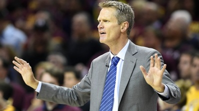 Steve Kerr was the definition of a new brand of basketball for the Golden State Warriors. (Photo credit: Rantsports)