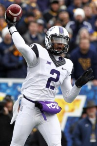 Trevone Boykin has the most experience out of all the Heisman contenders. Not only that, but he is one of the more electrifying QB's in the nation. (Photo by foxsports)