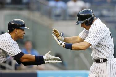Alex Rodriguez and Mark Teixeira have been the main cogs in the Yankees' deadly attack.