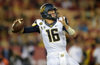Jared Goff is one of the top QBs in the Pac 12. (Photo courtesy of getty images)