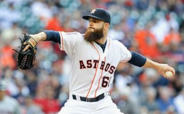 Dallas Keuchel has dominated the Yankees in two starts this season.