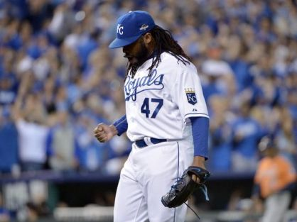 Johnny Cueto is beginning to look like the ace Kansas City needs.