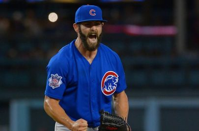 Jake Arrieta is in search of win number 23 Wednesday.