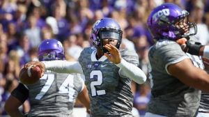 Trevone Boykin hasn't missed a beat leading TCU's explosive offense. (Photo courtesy: USA Today)