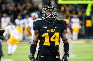 Desmond King has increased his draft stock this year as Iowa's star cornerback.