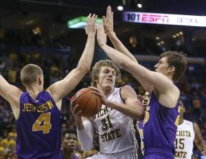 Wichita State haven't been playing up to their  potential this year and a loss to UNI in Missouri Valley Conference Tournament showed it. (Photo Courtesy of Getty Images)