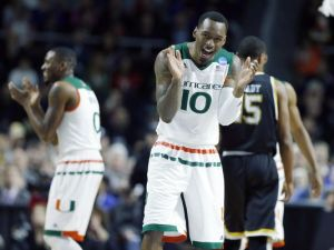 Sheldon McClellan is a key piece in the Hurricanes' backcourt that will look to advance to the program's first Elite 8. (Photo Courtesy of USA Today)