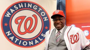 Can first-year manager Dusty Baker be the solution in DC? Photo by MLB.com.
