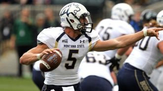 Moving from the FCS to FBS level will be a tough task for former Montana State QB Dakota Prukop to deal with. Photo Courtesy of The Locker Dome.