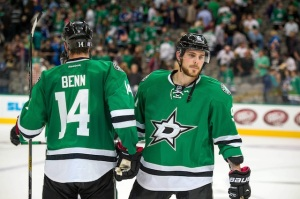 Jamie Benn (left) and Tyler Seguin (right) have been the focal point for Dallas this year. Photo Courtesy of USA Today.